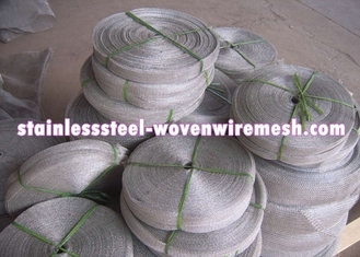 High Toughness Stainless Steel Knitted Wire Mesh Gas - Liquid Filter Screen